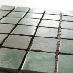 mosaico 30x30 composto da 36 pz.tozzetti 5x5 tutto spaccato a martello tutto porcellanato