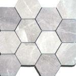 mosaico 35x40 composto da 12 esagoni.