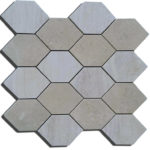 mosaico 35x35 composto da 16 esagonine